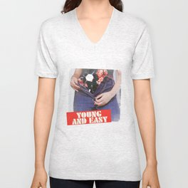 Young & Easy Unisex V-Neck