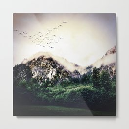 The Liveliness of Wildlife Metal Print