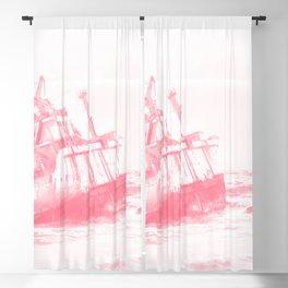 shipwreck aqrepw Blackout Curtain