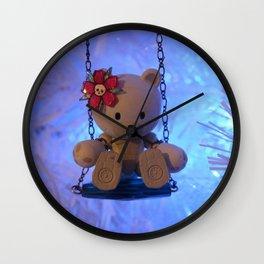 Beargguy Christmas. Wall Clock