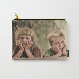 Oklahoma Refugee Children 1936 Carry-All Pouch