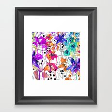 Lost in Botanica Framed Art Print