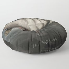 The Airship Ophelia Floor Pillow