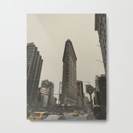 Flatiron building, New York architecture, NY building, I love NYC Metal Print