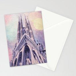 Barcelona Sagrada Familia Stationery Cards