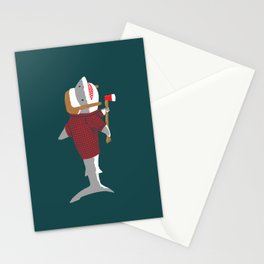 Shark LumberJack Stationery Cards