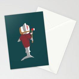 Shark LumberJack Stationery Cards
