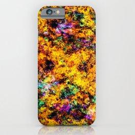 Hot yellow iPhone Case