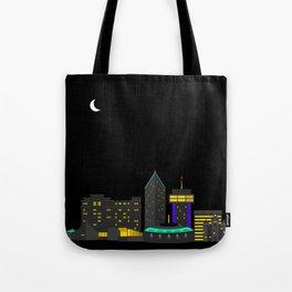 Wichita, Kansas Skyline Tote Bag
