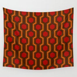 Retro-Delight - Humble Hexagons - Haunted Wall Tapestry