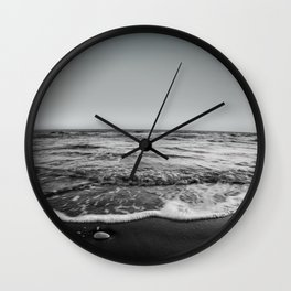 BEACH DAYS XXIII BW Wall Clock