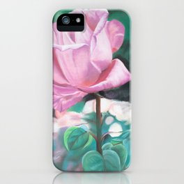 Single Stem From the Rose Garden iPhone Case