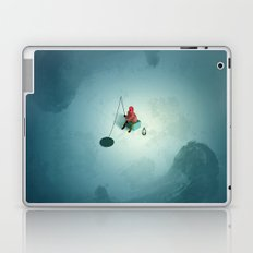 night fishing Laptop & iPad Skin