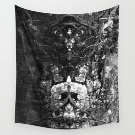 Watercolor Anthro 10 Wall Tapestry