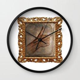 Daguerreotype Thumbs Up Wall Clock