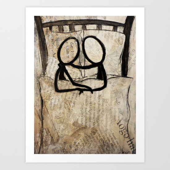 bedstory Art Print