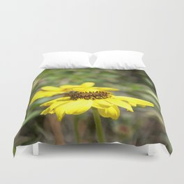 Honey Bee Working Duvet Cover