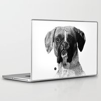 boxer Laptop & iPad Skins featuring Boxer by Nuria Galceran
