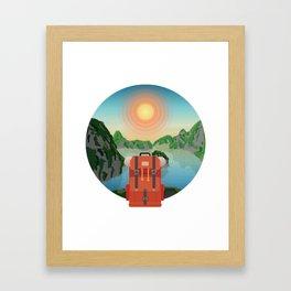 Wild Driven - Vietnam Framed Art Print