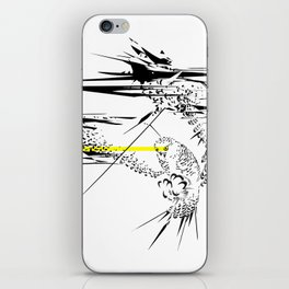 Holy Weapon // (Glitch Owl) iPhone Skin