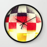 soccer Wall Clocks featuring German Soccer by Bunhugger Design