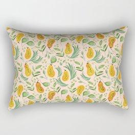 Papaya pattern design Rectangular Pillow