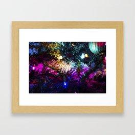 Christmas Lights 2 Framed Art Print