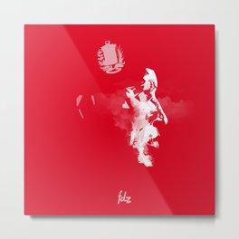 Hugo Chavez Metal Print