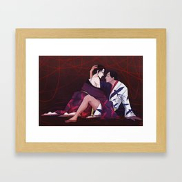 Strings of Fate Framed Art Print