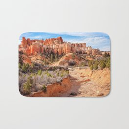 Castle in the sky at Water Canyon Bath Mat