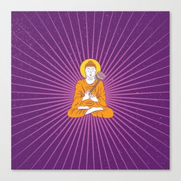 urban yoga Canvas Print