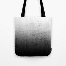 Black Ombre Concrete Texture Tote Bag
