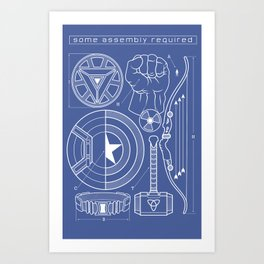 Some Assembly Required Art Print