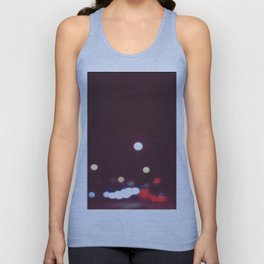 Car Lights Unisex Tank Top