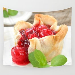 Cherry Tarts II Wall Tapestry