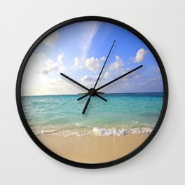 Maldives Beach Wall Clock
