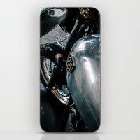 motorbike iPhone & iPod Skins featuring Deus Motorbike by ThePavedParadise