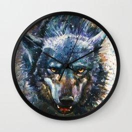 Wolf - last fight Wall Clock