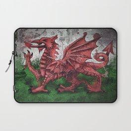 Welsh Dragon Laptop Sleeve