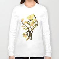 magnolia Long Sleeve T-shirts featuring Magnolia by Lara Paulussen