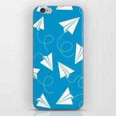 Paper Plane iPhone Skin