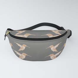 Hummingbird Design Fanny Pack