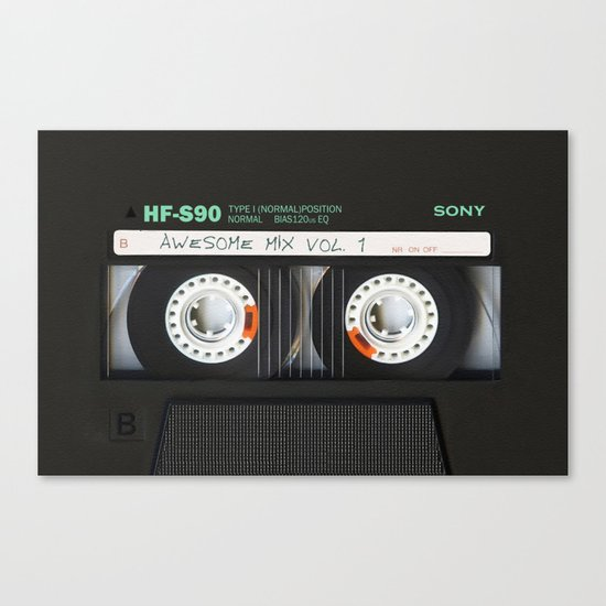 cassette classic mix Canvas Print