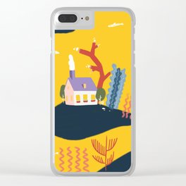 sea world Clear iPhone Case