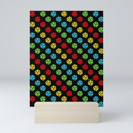 45 Spindle All Over Print Mini Art Print