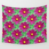 cosmos Wall Tapestries featuring Cosmos by Judi FitzPatrick