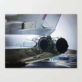 After-burners Canvas Print
