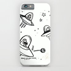 UFO Apes Play Ball Slim Case iPhone 6s