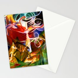 Franz Marc Deer in the Forest Stationery Cards