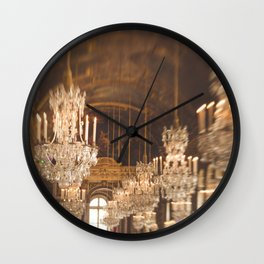 The Classiest Hallway in France Wall Clock